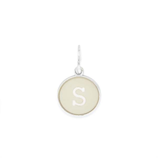 Alex and Ani Initial S Two Tone Charm