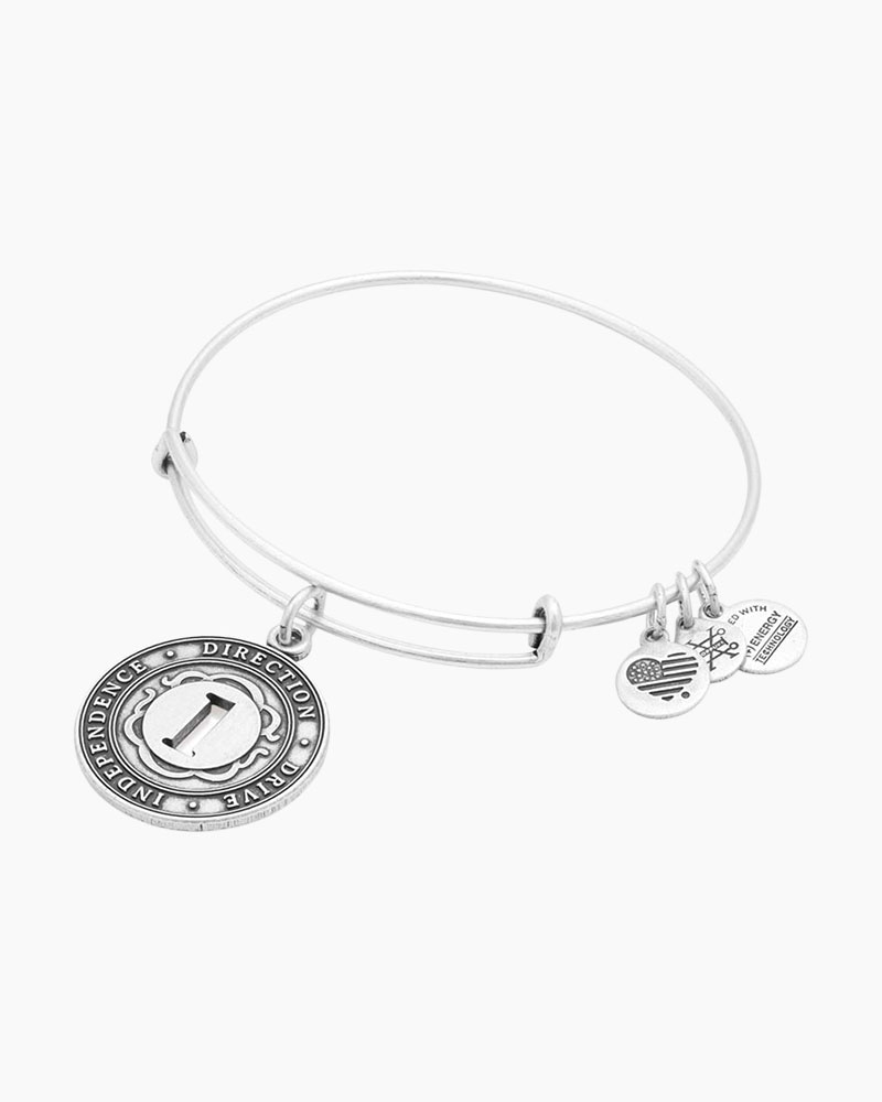 Alex and Ani Number One Expandable Wire Bangle
