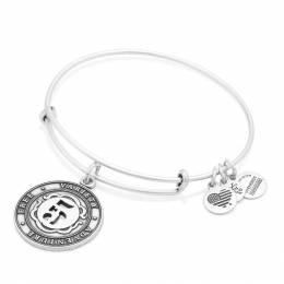Alex and Ani Number Five Expandable Wire Bangle