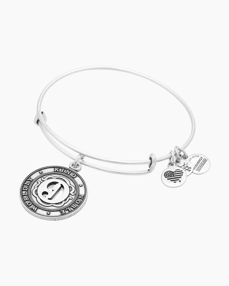 Alex and Ani Number Nine Expandable Wire Bangle