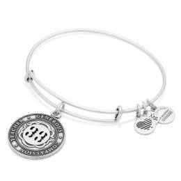 Alex and Ani Number Thirty-Three Expandable Wire Bangle