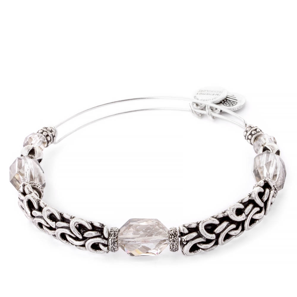 Alex and Ani Enchanted Expandable Wire Bangle in Winter Solace