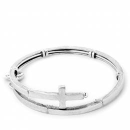 Alex and Ani Cross Metal Wrap