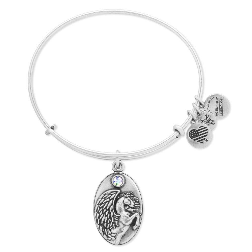 Alex and Ani Pegasus Expandable Wire Bangle