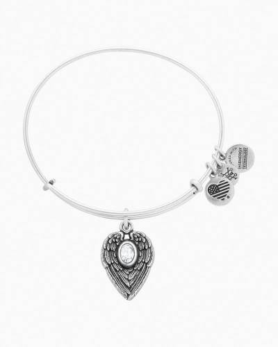 Guardian Angel Expandable Wire Bangle