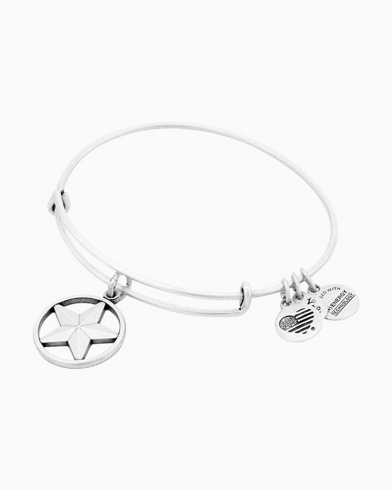 Alex and Ani Star Of Strength Charm Bangle