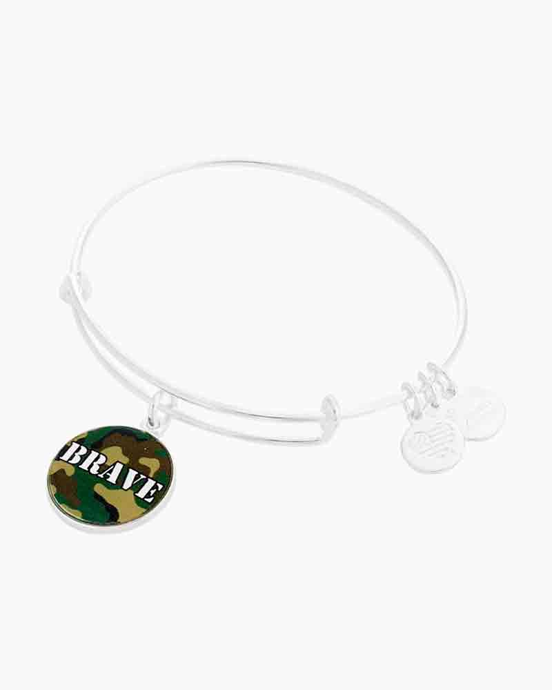 Alex and Ani Brave Charm Bangle
