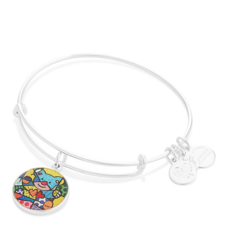 Alex and Ani Friendship Bear Art Infusion Charm Bangle