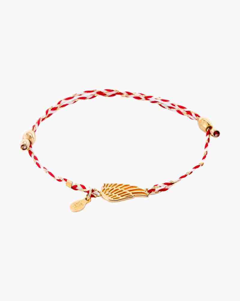 Alex and Ani Wing Royal Cardinal Precious Threads Bracelet
