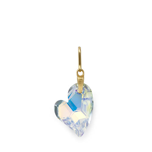 Alex and Ani Crystallized Swarovski Crystal Heart Charm