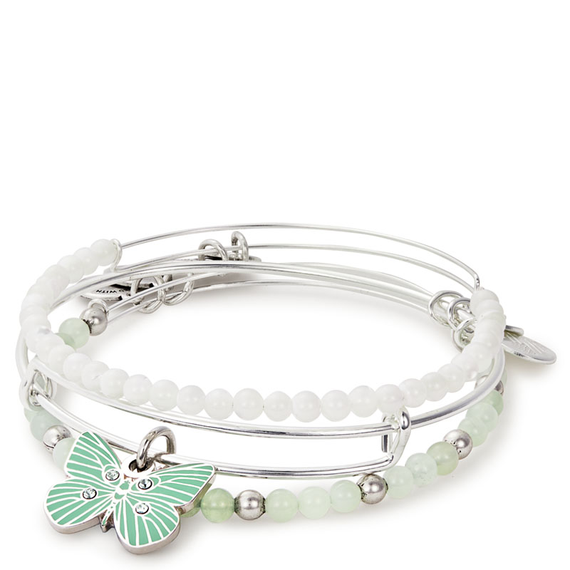 ALEX AND ANI Butterfly Set of 3