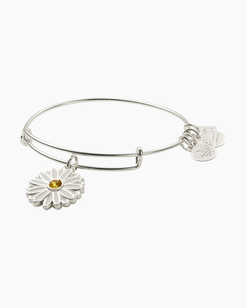 ALEX AND ANI Daisy Charm Bangle | Let Girls Learn