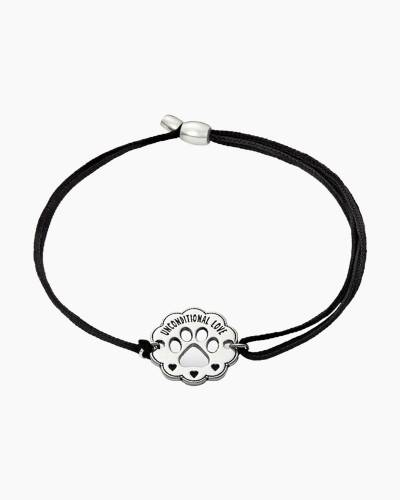 Unconditional Love Pull Cord Bracelet