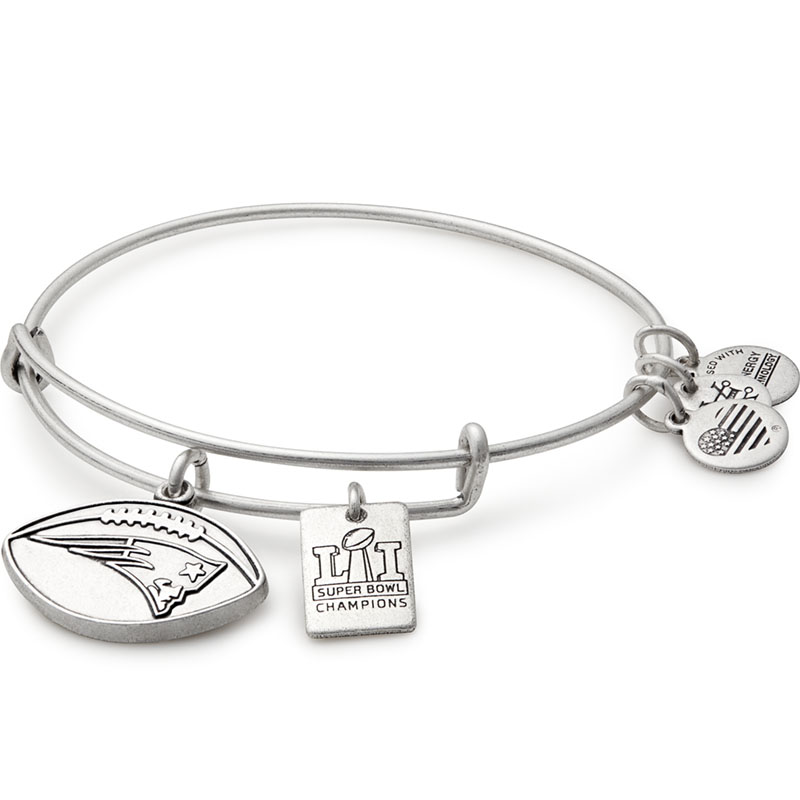 Alex and Ani New England Patriots Super Bowl 51 Champions Charm Bangle