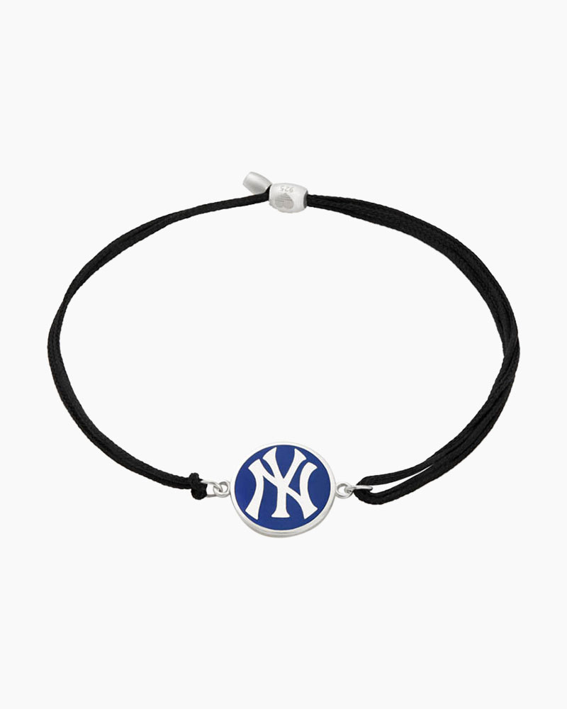 ALEX AND ANI New York Yankees Pull Cord Bracelet