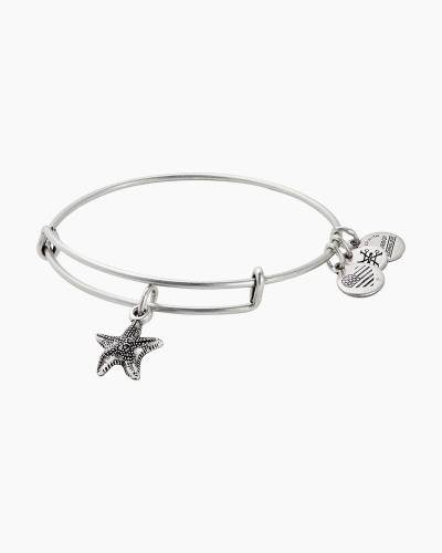 Starfish Expandable Wire Bangle