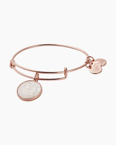 What Is For You Will Not Pass You Expandable Wire Bangle