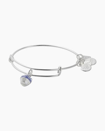 Cupcake Expandable Wire Bangle | Race to Erase MS in Shiny Silver Finish