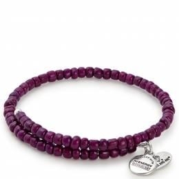 Alex and Ani Aubergine Primal Spirit Wrap