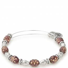 Alex and Ani Plum Radiance Beaded Bangle