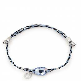 Alex and Ani Light Sapphire Precious Threads Bracelet with Swarovski Crystal