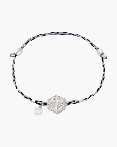 Snowflake Precious Threads Bracelet