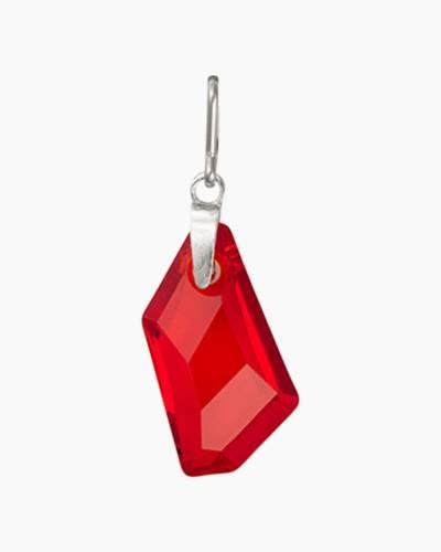 July Birth Month Necklace Charm With Swarovski Crystal