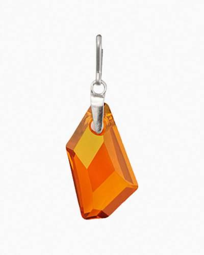 November Birth Month Necklace Charm With Swarovski Crystal