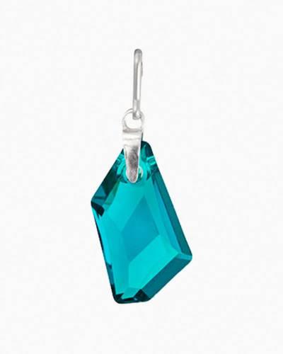 December Birth Month Necklace Charm With Swarovski Crystal