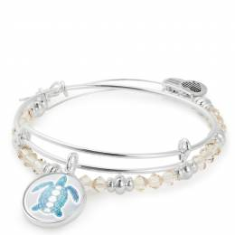 Alex and Ani Sea Turtle Art Infusion Set | September Exclusive