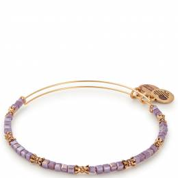 Alex and Ani Aubergine Celestial Beaded Bangle