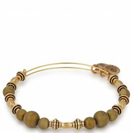 Alex and Ani Honey Quarry Beaded Bangle