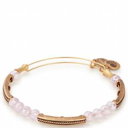 Alex and Ani Aubergine Glacial Beaded Bangle