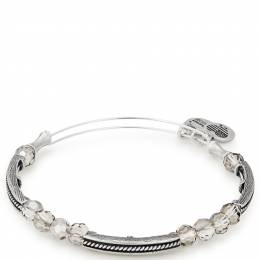 Alex and Ani Moon Glacial Beaded Bangle