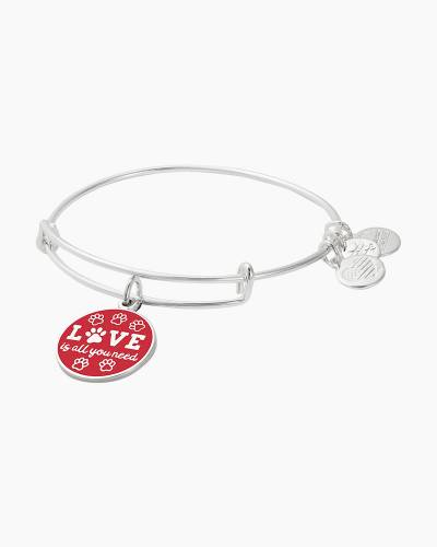 Love is All You Need Charm Bangle