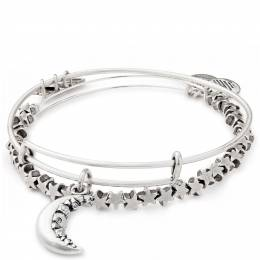 Alex and Ani Crescent Moon Set