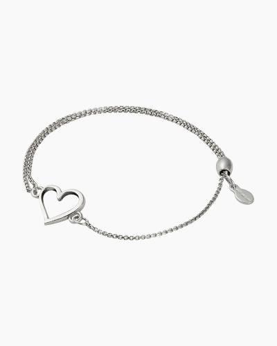 Heart Pull Chain Bracelet