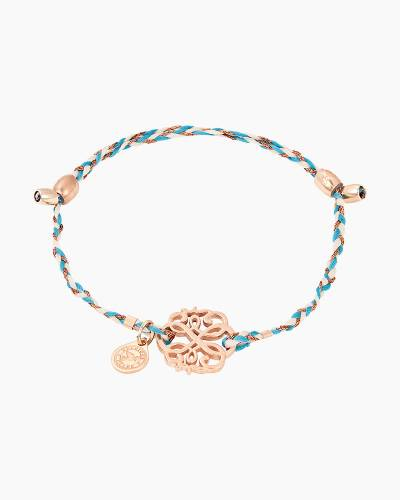 Path of Life Precious Threads Bracelet in 14kt Rose Gold Finish