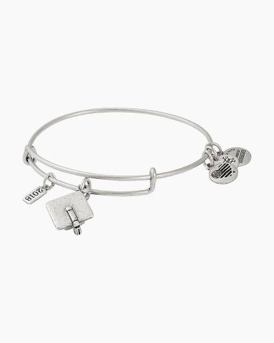 2018 Graduation Cap Charm Bangle