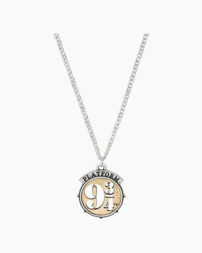 HARRY POTTER PLATFORM 9 3/4 Two Tone Adjustable Necklace