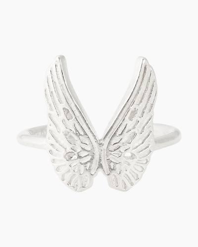 Guardian Angel Adjustable Statement Ring