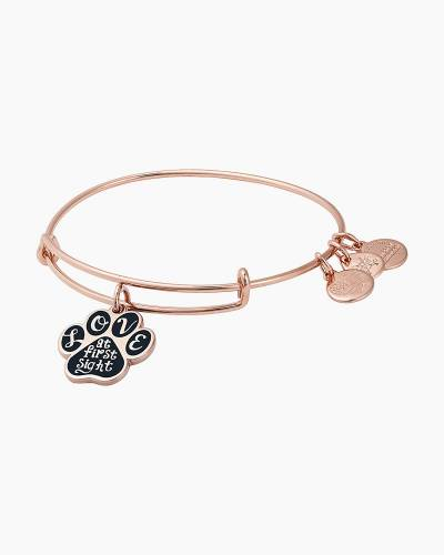 Love At First Sight Bangle in Shiny Rose Gold Finish