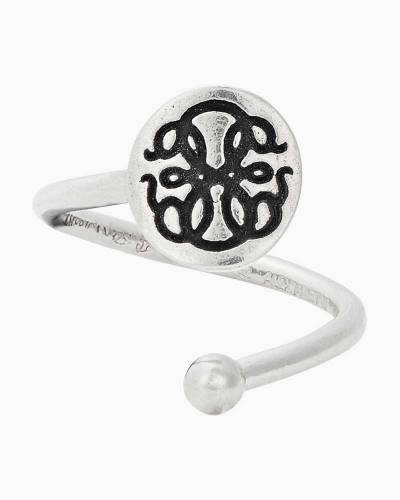Path of Life Ring Wrap in Sterling Silver