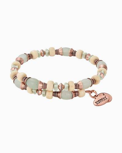 Milkweed Grove Beaded Wrap Bracelet