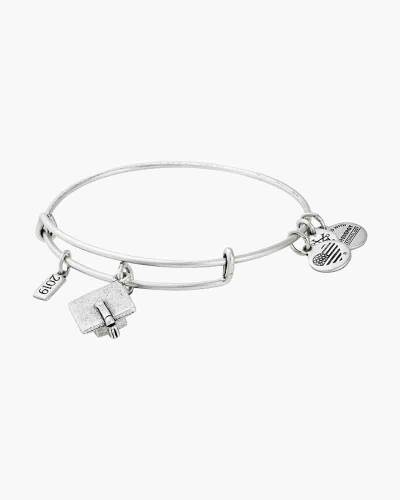 Alex and Ani 2019 Graduation Cap Charm Bangle