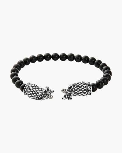 Game of Thrones Men's Stark Beaded Wrap Bracelet