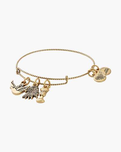 Game of Thrones Lannister Bangle in Rafaelian Gold Finish