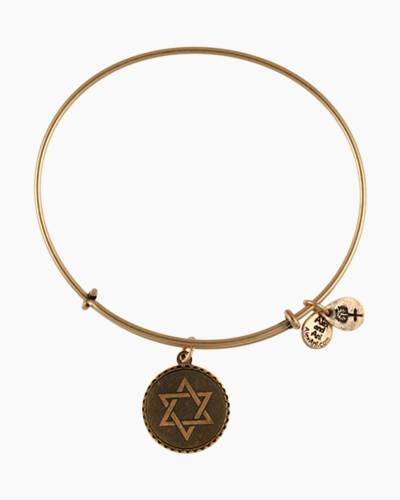 Star of David Charm Bangle