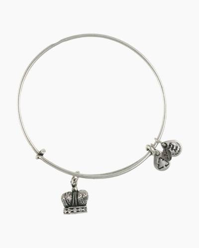 King's Crown Charm Bangle