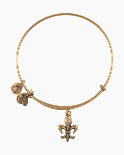 French Royalty Charm Bangle